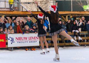 Kunstschaatsshow Openingsceremonie Dag II Winter Village Almere