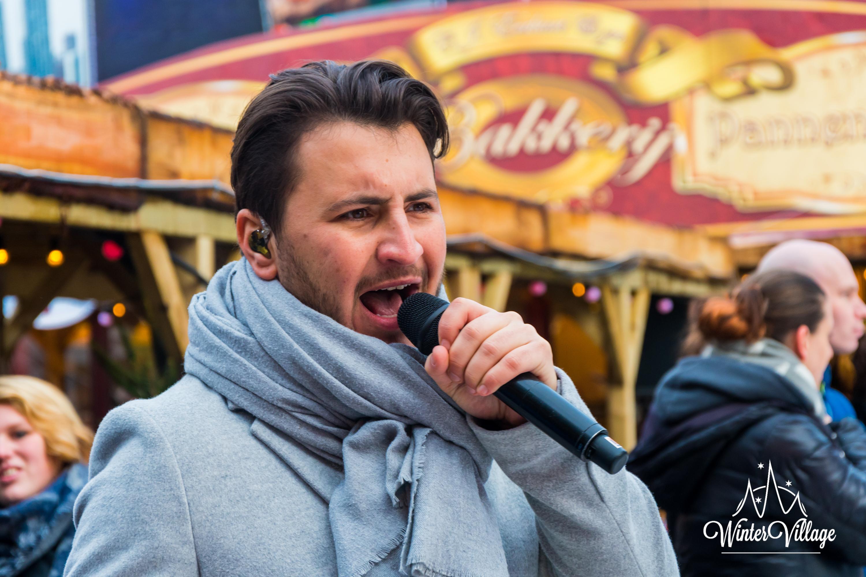 Danny Froger Openingsceremonie Dag II Winter Village Almere