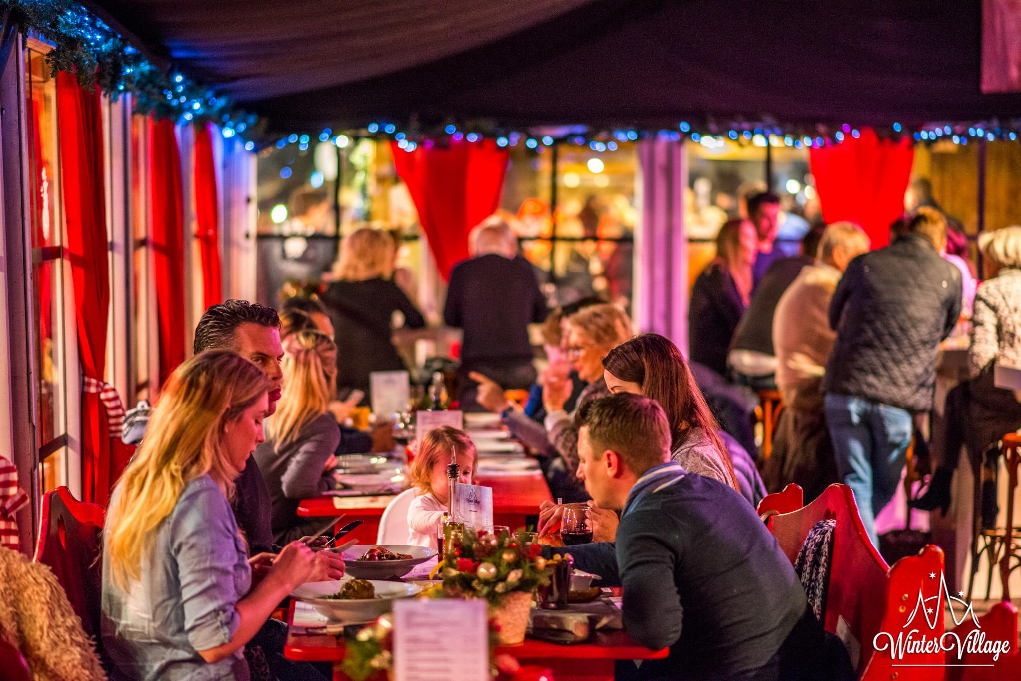 Winter Village Laren Pop-Up Restaurant