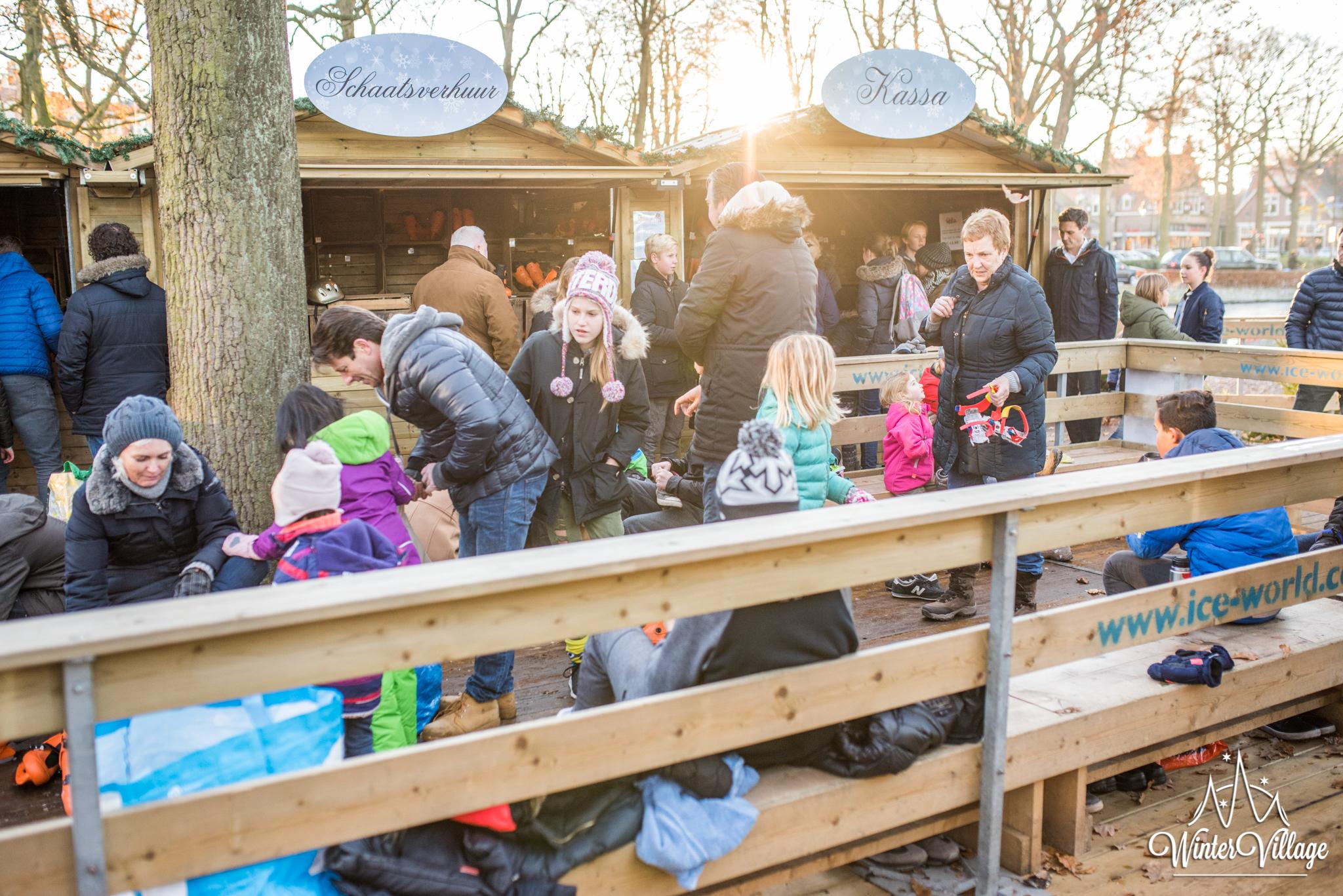 Winter Village Laren Schaatsverhuur