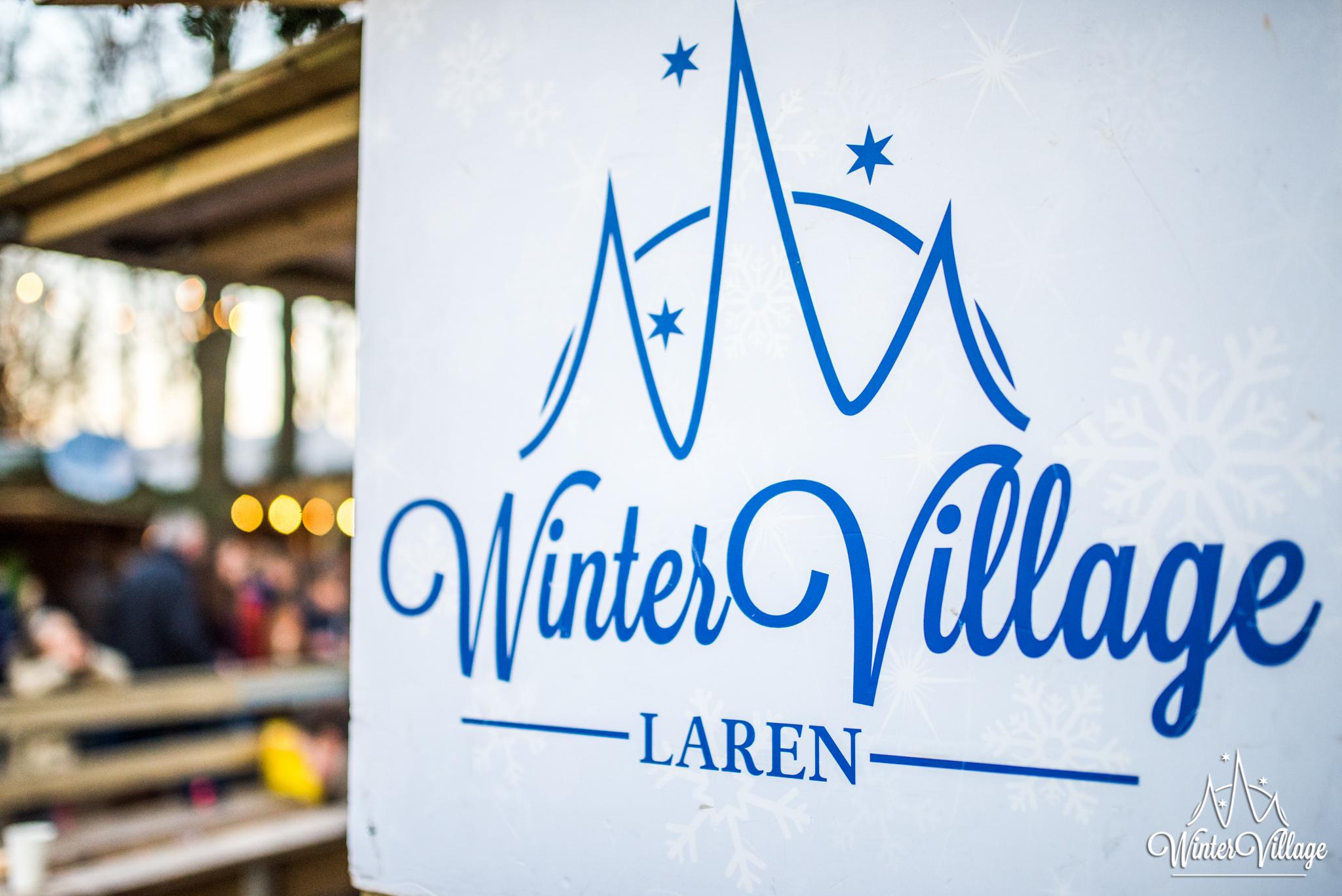 Winter Village Laren Logovermelding