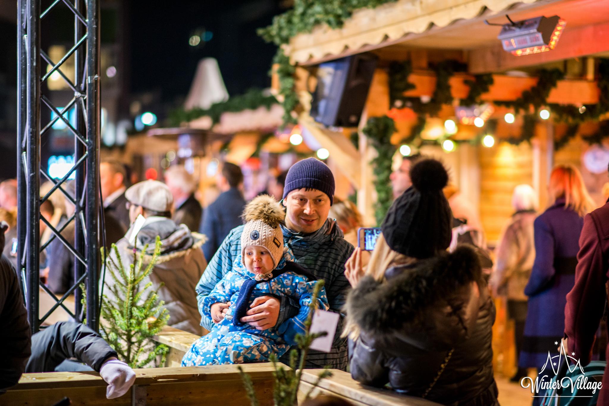 Winter Village Amstelveen publiek