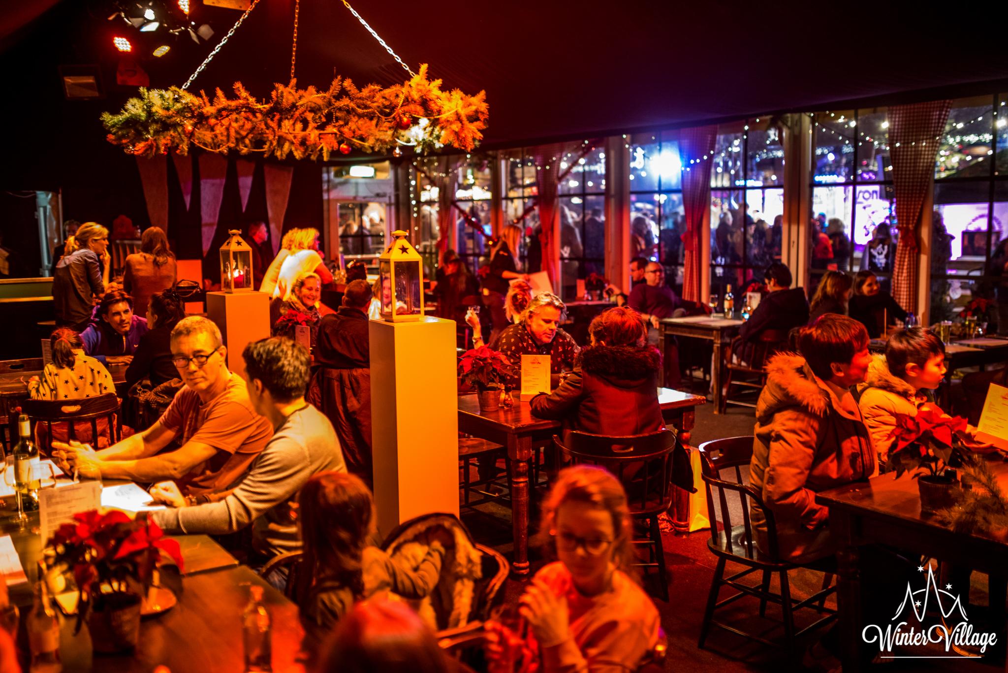 Winter Village Pop-Up Restaurant